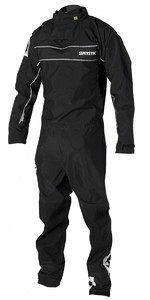 2019 Drysuit Fuerza Con Back Zip Mystic Force Negro 140000