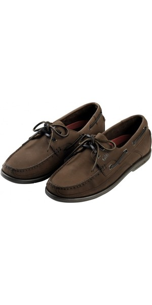 2018 Gill Baltimore 2 Eye Deck Shoe in Dark Brown / Nubuck 920