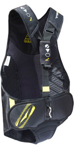 2019 Gul Junior Evolution 2 Trapeze Harness in Black / Yellow GM0374