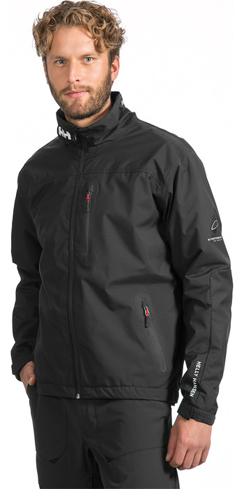2020 Helly Hansen Crew Midlayer Jacket Black 30253