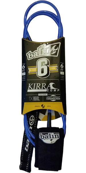 Balin Kirra Comp Series 5.5mm Leash Blue - 6 pies
