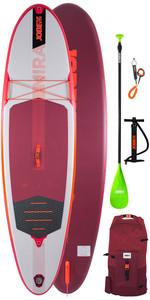 2020 Jobe Mira 10'0 Inflatabale SUP Package - Board, Paddle, Bag, Pump & Leash 488821004