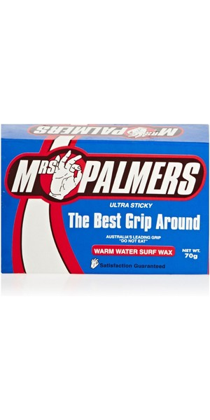 2018 Mrs Palmers Warm Water Surf Wax