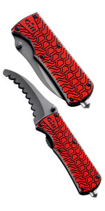 2019 Gill Folding Personal Rescue Knife MT006 ROSSO