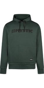 2021 Mystic Mens Brand Hood Sweat 210009 - Cypress Green