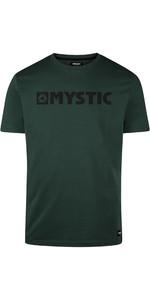 2020 T-shirt Da Uomo Di Brand Mystic 190015 - Verde Cipresso