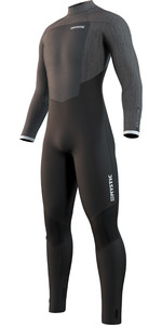 2021 Mystic Majestic 4/3mm Wetsuit Met Back Zip Heren 210060 - Zwart