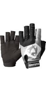 2021 Mystic Udslæt Kort Fingerhandske 140285 - Sort