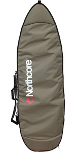 2020 Northcore Aircooled Shortboard Surfboard Bag 6'8 Olive Green NOCO27