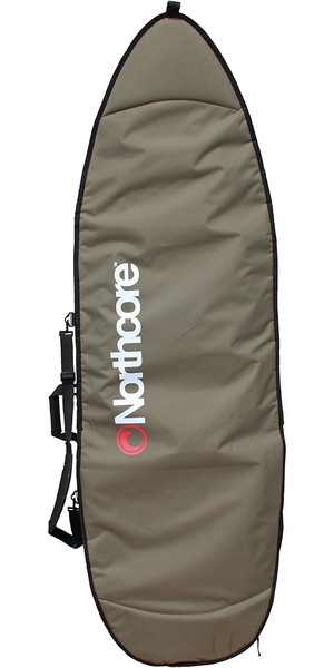 2018 Northcore Aircooled Board Jacket 6'8 Shortboard Bag OLIVE NOCO27