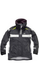 Gill OC Racer Jacket OC11J in Graphite / Silver
