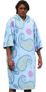 TLS SURF HOODED CHANGING ROBE / PONCHO - Paisley