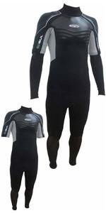 Gul Profile 3/2mm Convertible Arm Wetsuit Black / Silver PR2301 - 2ND