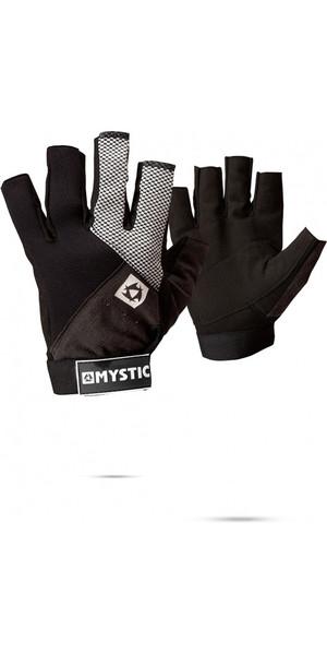 2019 Mystic Rash NEO handschoen met korte vingers zwart 130455