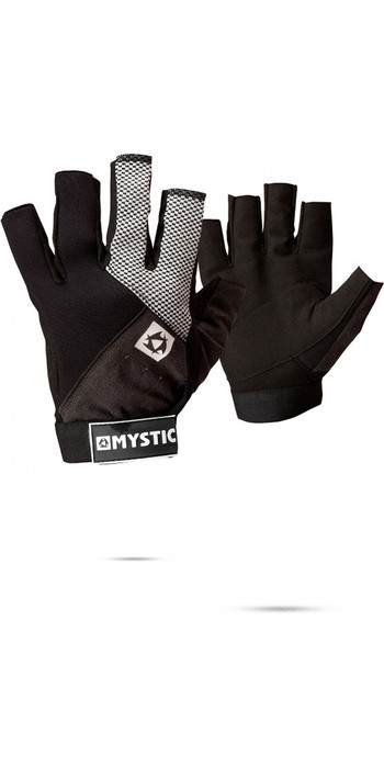 2021 Mystic Rash NEO Short Finger Glove Black 130455