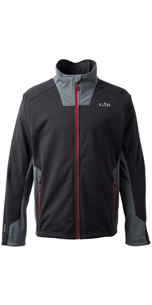 2019 Gill Race Softshell Jacket Grafite RS03