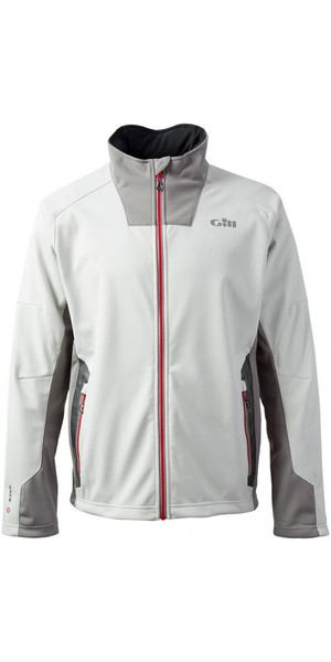 2019 Gill Race Softshell Jacket Silver RS03