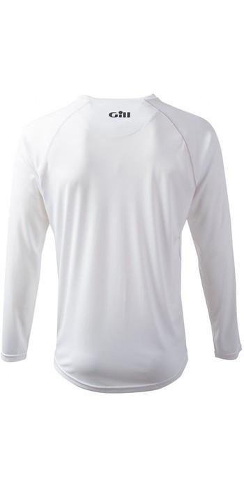 2019 Gill Corrida Manga Longa T-shirt Branco Rs07