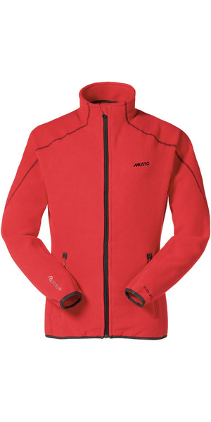 Giacca in pile Musto Essential True Red SE0057