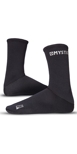 2019 Mystic 2mm neopren Semi Dry Round Toe Sock 070.810