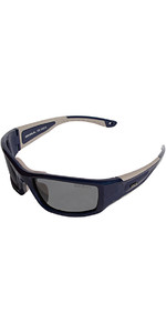 2019 Gul CZ Pro Flydende Solbriller NAVY / GRAY SG0001