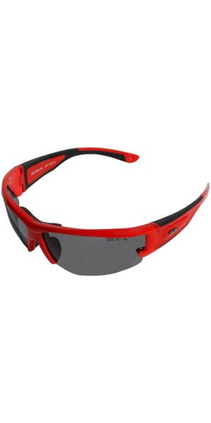 2018 Gul CZ Race gafas de sol flotantes ROJO / NEGRO SG0002