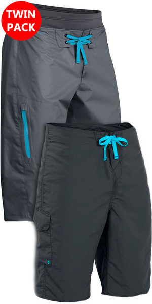 Palm Spring & Summer Shorts: Horizon & Skyline Kanu / Kajak Shorts Graues Bundle-Angebot