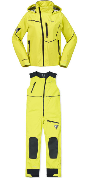 Musto LPX Dynamic Stretch Jacket SL0060 & Salopettes SL0070 Combi Set Sulphur Spring