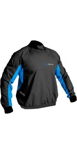 2020 Gul Mens Shore Taped Spray Top Black / Blue ST0030-B5