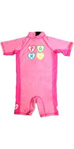 Roxy Toddler Teenie Rash Sun Suit in PINK FT01TS