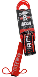 2020 Balin Super Series Correa Doble Giratoria De 7mm Roja - 8 Pies