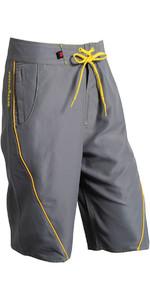 Nookie Boardies Boardshorts Grau Gelb Sw03
