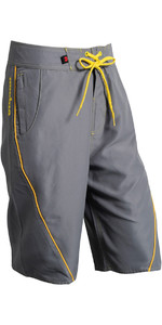 2019 Nookie Boardies Board Shorts GREY YELLOW SW03