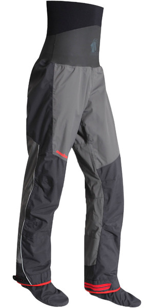 2019 Nookie Evolution Dry Pantalones con SOCKS Charcoal Gray / Shadow Black TR30