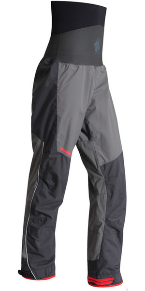 2019 Nookie Evolution Dry Trousers con SELLOS LATEX Gris carbón / Negro TR31