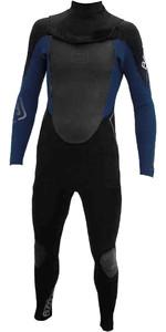 Billabong Solution CT 4 / 3mm Zip Free Wetsuit Schwarz / Ink Blue U44M05 - 2ND