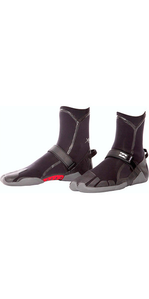 2018 Billabong four 3mm Split Toe combinaison de démarrage noir U4BT03