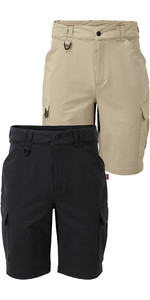 Gill Mens UV Tec Pro Shorts Twin Pakke - Grafit & Khaki