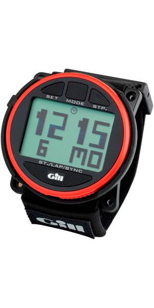 2018 Gill Regatta Race Timer Uhr Rot / Schwarz Tasten W014