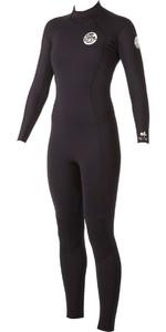 Rip Curl Ladies Dawn Patrol 3 / 2mm GBS Back Zip Wetsuit BLACK WSM4GW