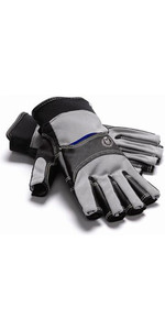 Henri Lloyd Cobra Grip Kurzfingerhandschuh Carbon Y80051