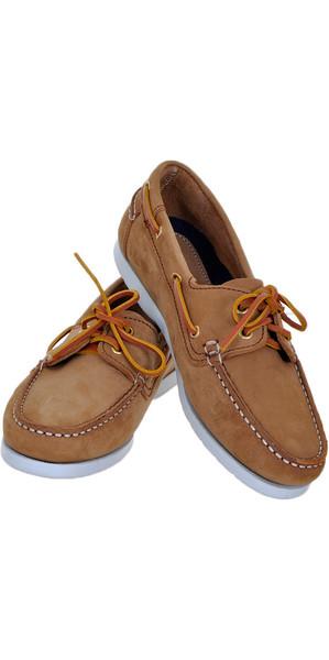 Henri Lloyd Chaussures de pont Shore pour femmes BROWN NUBUCK F94425
