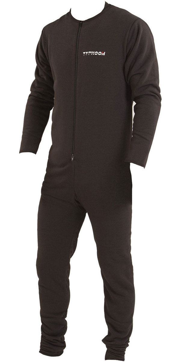 2019 Typhoon Hypercurve 4 Back Zip Drysuit con calcetines y Underfleece Teal / Grey 100170