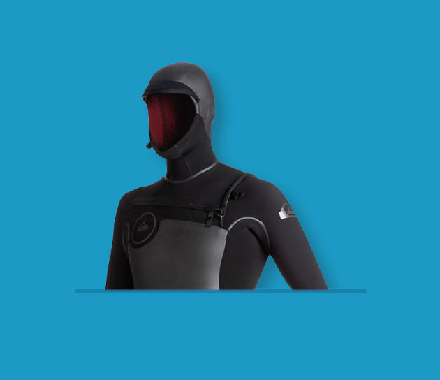5/6mm Hooded Wetsuits