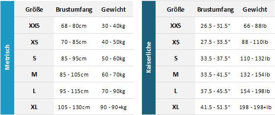 Helly Hansen Rider Vest 19 Mens Größentabelle