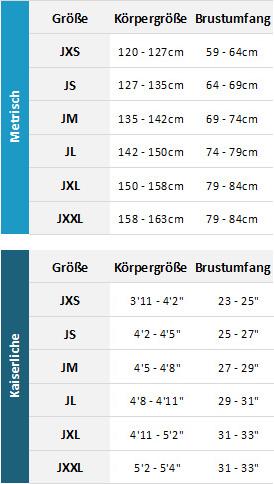 Typhoon Junior Wetsuits 19 0 Größentabelle
