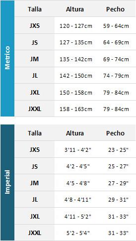 Typhoon Junior Wetsuits 19 Mens Tabla de Tallas