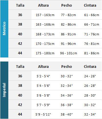 Typhoon Womens Wetsuits 19 Womens Tabla de Tallas