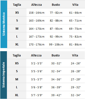 Mystic Womens Wetsuits 19 Womens Guida alle taglie